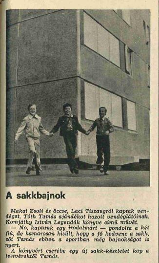 Ifjú sakkbajnok, 1976